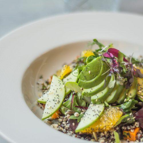 Couscous and Avocado Salad The Green Hotel Dublin