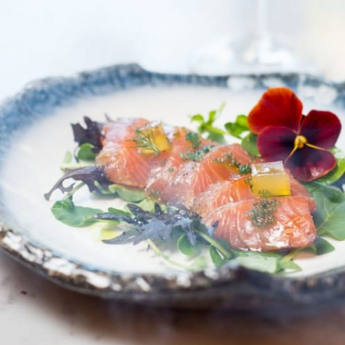 Cured Salmon at The Green Dublin