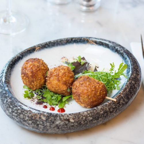 Arancini Croquets at The Green Dublin