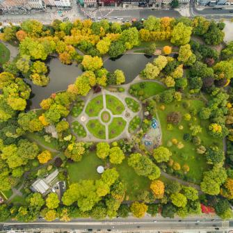 The Stephens Green Dublin, Public Park beside The Green Hotel