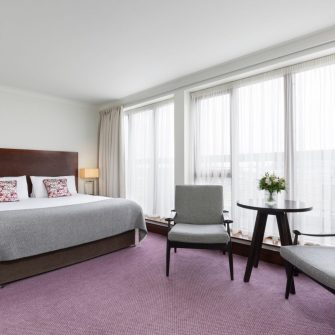The Green Hotel Dublin Executive View Bedroom