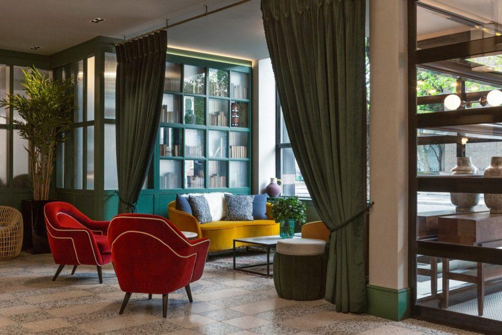 The Green Hotel Dublin Lobby