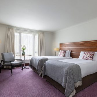 The Green Hotel Dublin Twin Bedroom