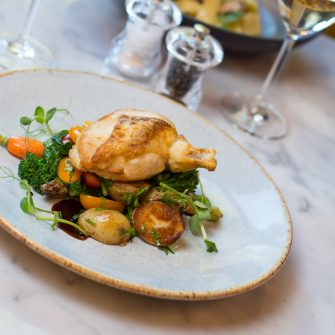 Chicken Supreme at The Green Hotel Dublin