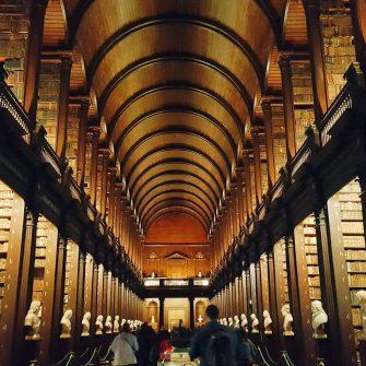 Dublin Trinity Library