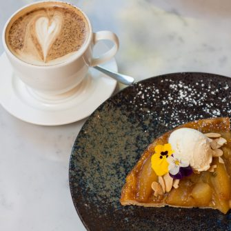 Pear Almond Tart - The Green Hotel Dublin