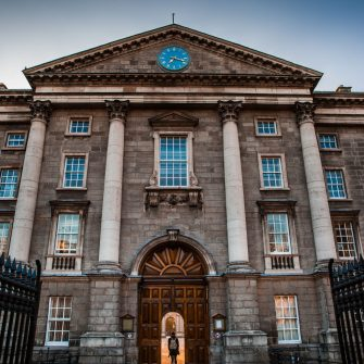Trinity College Entrance Dublin